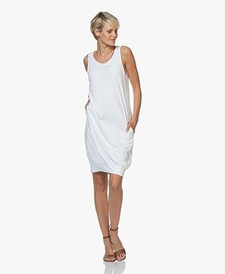 BRAEZ Sleeveless Jersey Dress - White