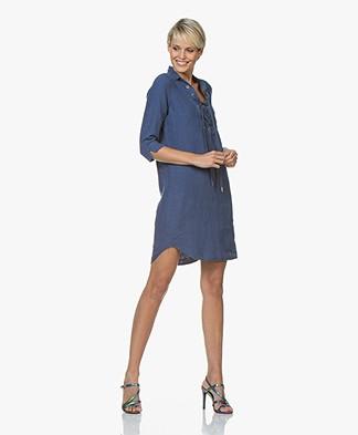 Josephine & Co Carel Linen Tunic Dress - Jeans Blue