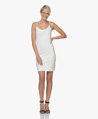Josephine & Co Conny Jersey Jurk - Off-white