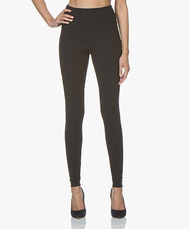 JapanTKY Haya Slim-fit Jersey Leggings - Black