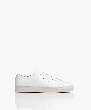 Filippa K Kate Raw Sneakers - White Patent