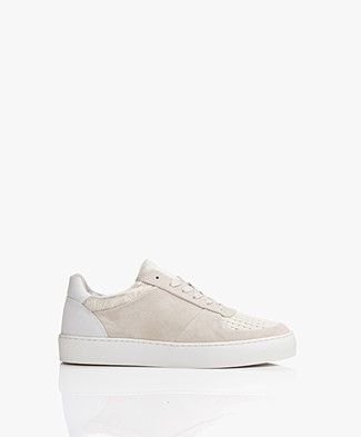 Filippa K Donna Pony Hair Sneakers - Off-white