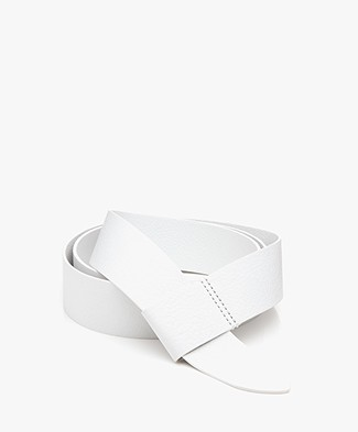 Filippa K Wrap Leather Belt - White