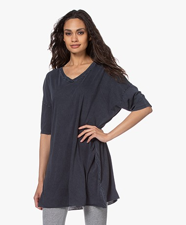American Vintage Decatur Garment-dyed Lang T-shirt - Vintage Darkness