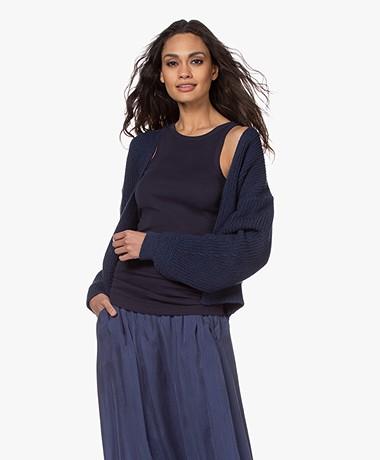 by-bar Emma Kort Open Vest - Indi Grey