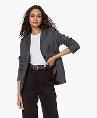 Woman by Earn Odette Wolmix Blazer - Grijs
