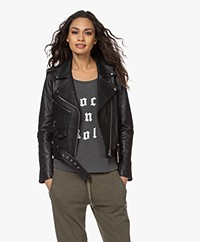 Current/Elliott The Shana Biker Jack - Zwart