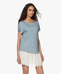 by-bar Ines Viscose T-shirt - Cloud