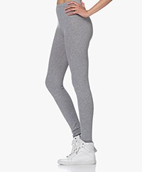 American Vintage Vetington Knitted Leggings - Grey Melange