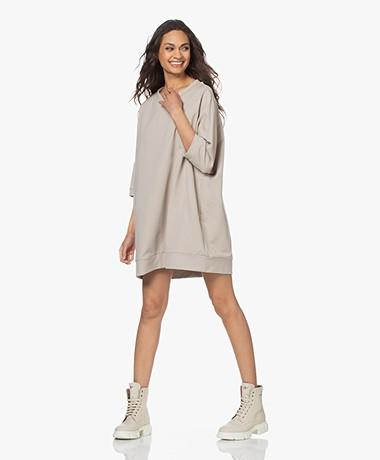 Woman by Earn Tom Lang Oversized Sweatshirt - Zand
