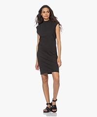 bassike Organic Cotton Jersey Tank Dress - Deep Ink