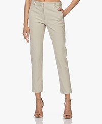 Joseph New Eliston Gabardine Stretch Pantalon - Mastic