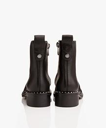 Zadig & Voltaire Empress Clous Biker Boots - Zwart