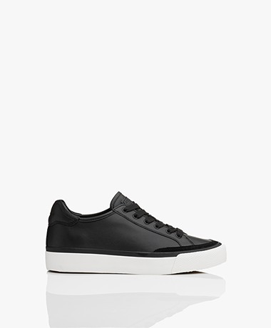 Rag & Bone RB Army Low Leather Sneakers - Black