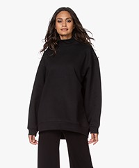 Filippa K Soft Sport Oversized Sweatshirt - Black