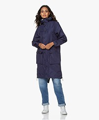 Maium 2-in-1 Parka Lightweight Raincoat - Medieval Blue