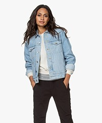 Rag & bone  Shrunken Trucker Jacket - Dagger