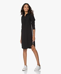 Josephine & Co Roma Travel Jersey Dress - Black