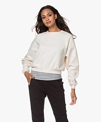 American Vintage Narabird Cotton Sweater - Ecru