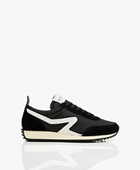 Rag & Bone Gerecyclede Retro Runner Sneakers - Zwart
