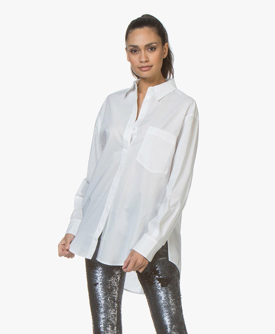 c596e9e2106 Classic Ladies White Cotton Shirt