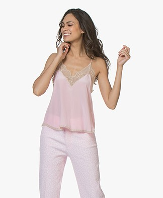 Zadig & Voltaire Christy Silk Camisole - Dragee