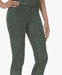 Ragdoll LA Luipaard Print Legging - Groen