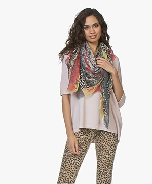 Zadig & Voltaire Kerry Multi Print Sjaal - Multicolored