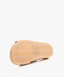Filippa K Nadia Nappa Leather Slipper Sandals - Natural