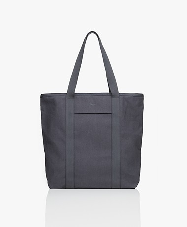 Filippa K Kayla Canvas Tote - Ink Grey