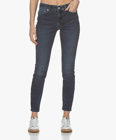 Drykorn Need Stretchy Skinny Jeans - Donkerblauw