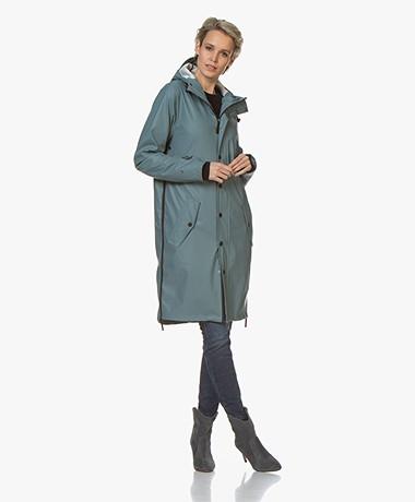 Maium Rainwear 2-in-1 Regenjas - Vergrijsd Blauw