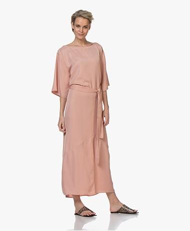 Filippa K Ella Viscose Blend Maxi Dress - Antique Rose