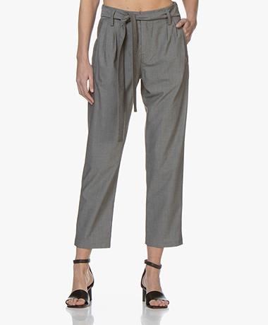 Drykorn Dispatch Viscose Blend Pants - Grey