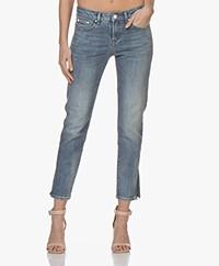 Denham Liz Ankle Cali Jeans - Blue