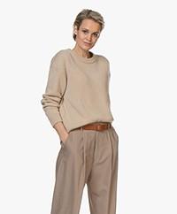 Filippa K Maya Recycled Cashmere Sweater - Beige