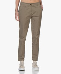 Repeat Stretch-cotton Chinos - Khaki
