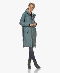 Maium 2-in-1 Rain Coat - Greyish Blue