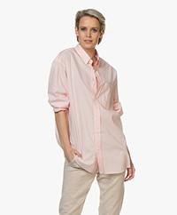 American Vintage Krimcity Oversized Shirt - Wild Rose