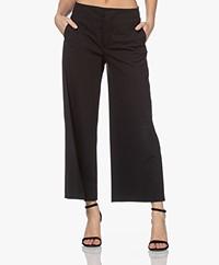 Drykorn Bonnet Jersey Culotte Pantalon - Zwart