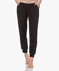 Calvin Klein Logo Lounge Sweatpants - Zwart/Honey Almond