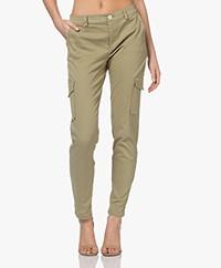 Josephine & Co Lorette Cotton Blend Pants - Palmleaf