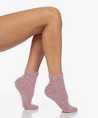 FALKE Ultra Soft Bed Socks - Brick