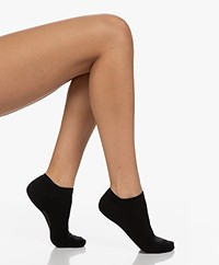 Organic Basics Cotton Ankle Socks 2-Pack - Black