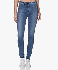 Denham Needle High Skinny Jeans - Denim Blue