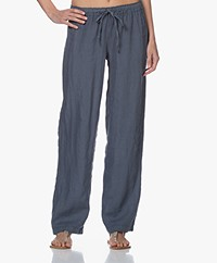 Belluna Dani Loose-fit Garment-dyed Linen Pants - Petr