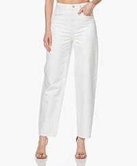 Les Coyotes de Paris Dewi High-rise Loose-fit Jeans - Off-white