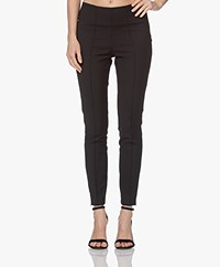 By Malene Birger Odelie Slim-fit Stretch Broek - Zwart