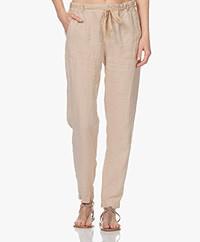Josephine & Co Louis Linen Pants - Mocca