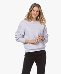 Closed Katoenen French Terry Sweatshirt - Lavendel